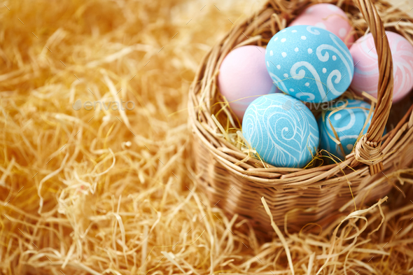Easter symbols - Stock Photo - Images