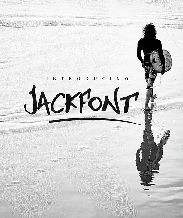Jackfont Script Typeface - Script Fonts