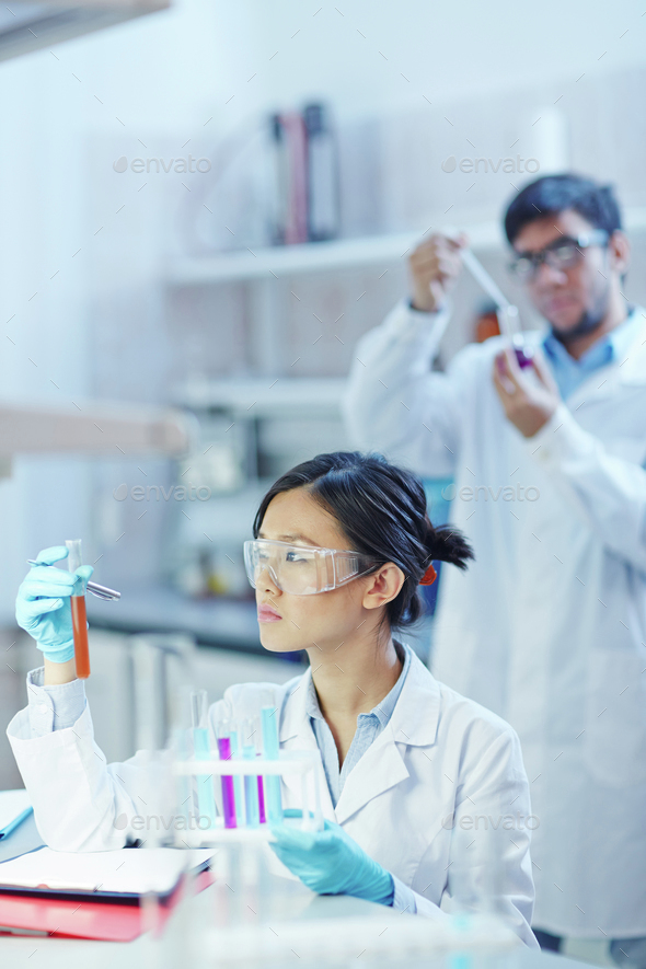 Laboratory test - Stock Photo - Images