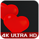 Valentine's Day Heart Balloons - 4 Pack - VideoHive Item for Sale