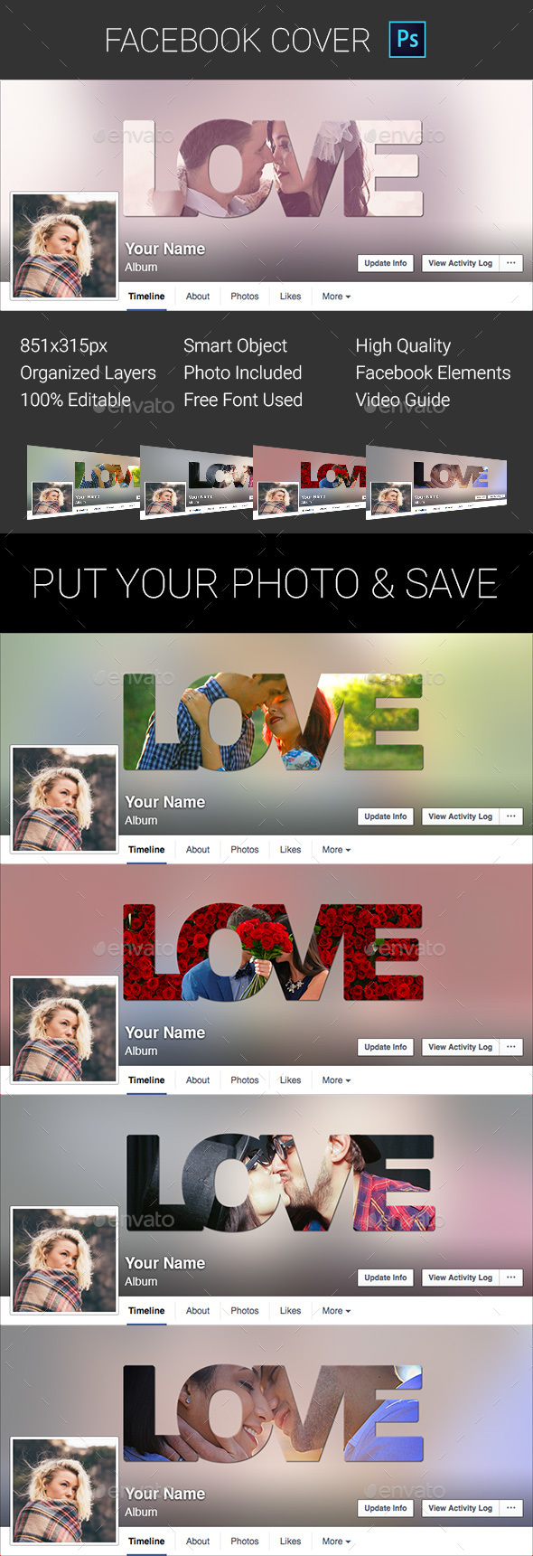 Love Facebook Cover - Facebook Timeline Covers Social Media