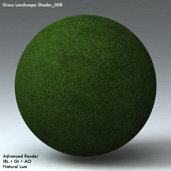 Grass Landscape Shader_008 - 3DOcean Item for Sale