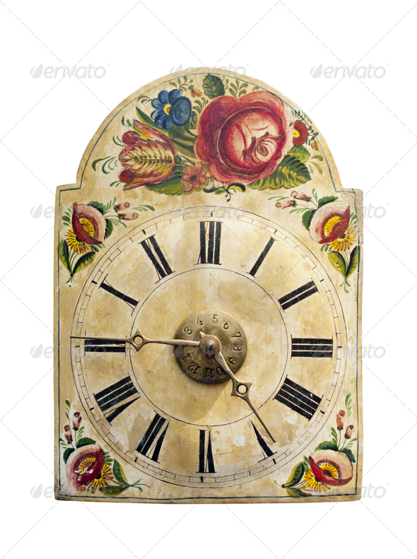 Vintage clock - Stock Photo - Images