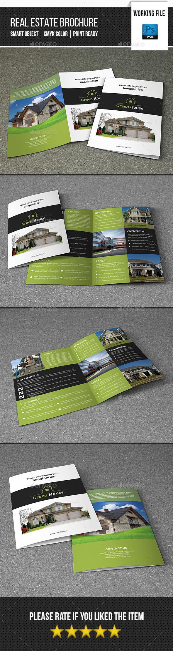 Real Estate Bifold Brochure-V355 - Corporate Brochures