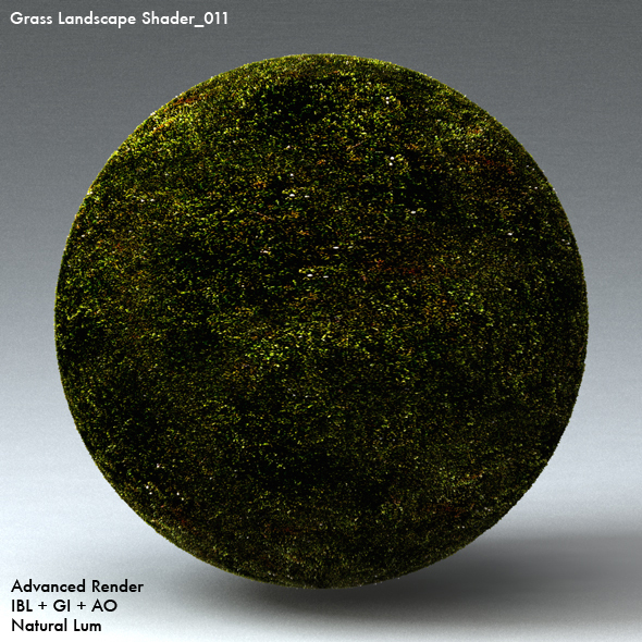 Grass Landscape Shader_011 - 3DOcean Item for Sale