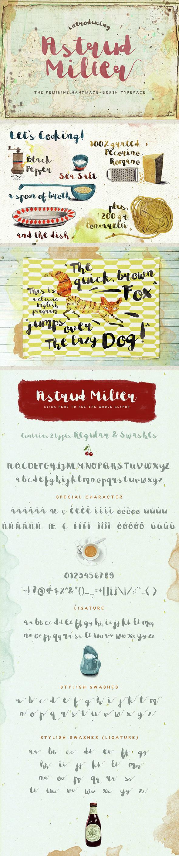 Astrud Miller - Script Fonts