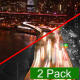 Night Traffic on the Embankment (2 Pack) - VideoHive Item for Sale