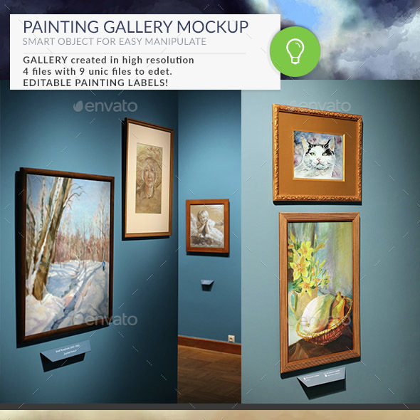 Gallery Mockups Posters HD - Posters Print