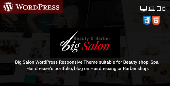 Big Salon - WordPress Theme for Hair Salon, Beauty & Spa Sites - Health & Beauty Retail