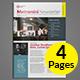 Modern Newsletter Template v03 - GraphicRiver Item for Sale
