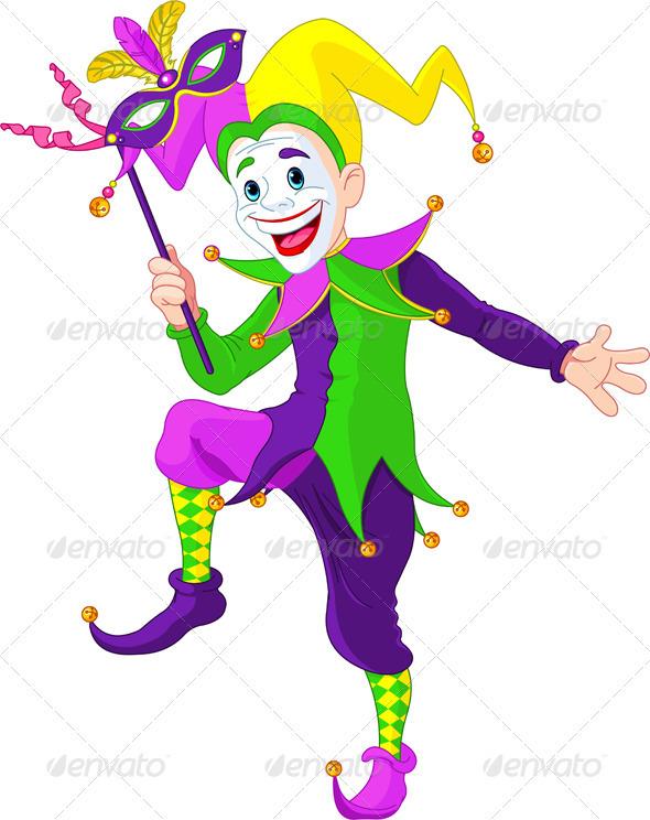 Mardi Gras jester - Seasons/Holidays Conceptual