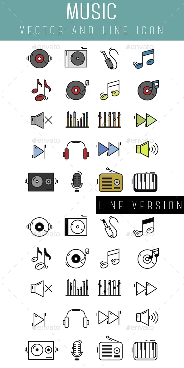 Music Icon - Objects Icons