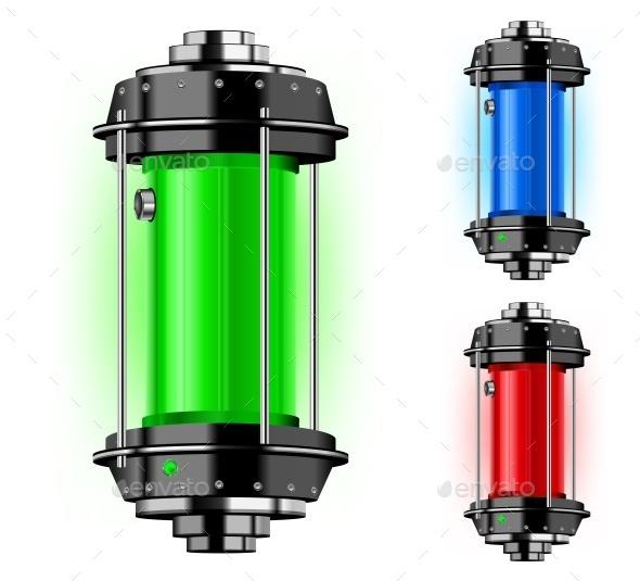 Container of Alternative Energy - Miscellaneous Vectors