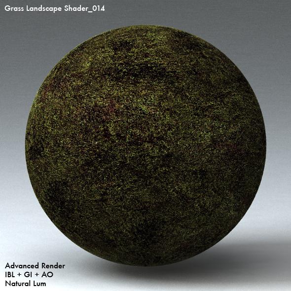 Grass Landscape Shader_014 - 3DOcean Item for Sale