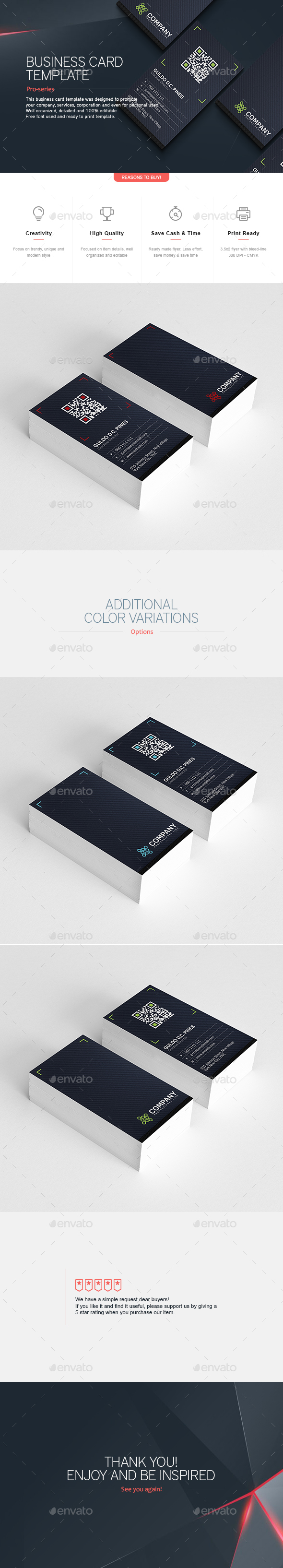 Business Card 16 - Corporate Business Cards