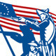 American Patriot Minuteman Revolution Militia  - GraphicRiver Item for Sale