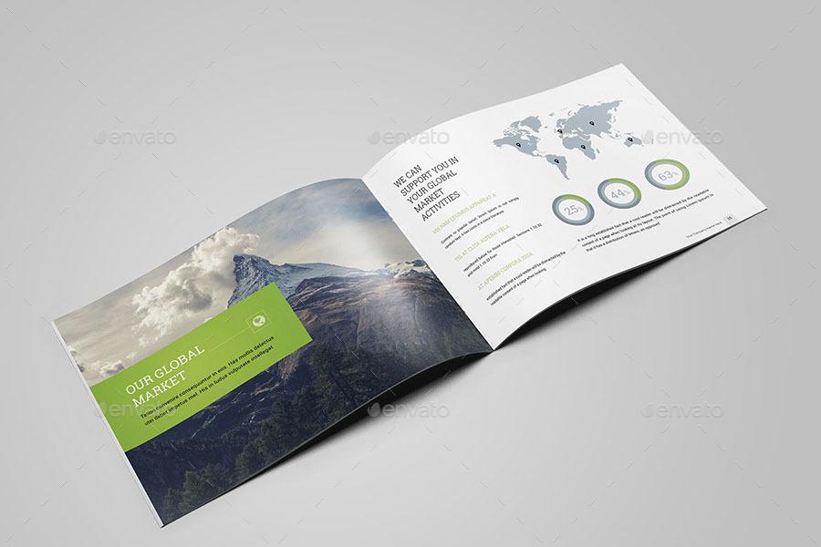 Landscape Brochure Templates By Dotnpix GraphicRiver - Landscape brochure template