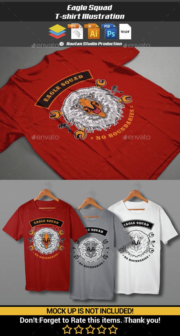 Eagle Squad - Sports & Teams T-Shirts