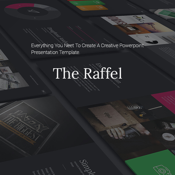 Raffel Business Clean Theme - Business PowerPoint Templates