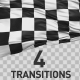 Checkered Flag Transitions - VideoHive Item for Sale