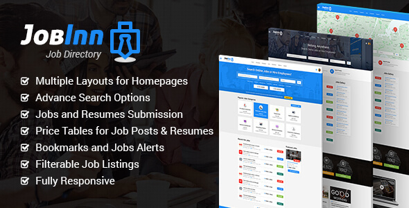 JobInn - Job Board & Directory HTML Template