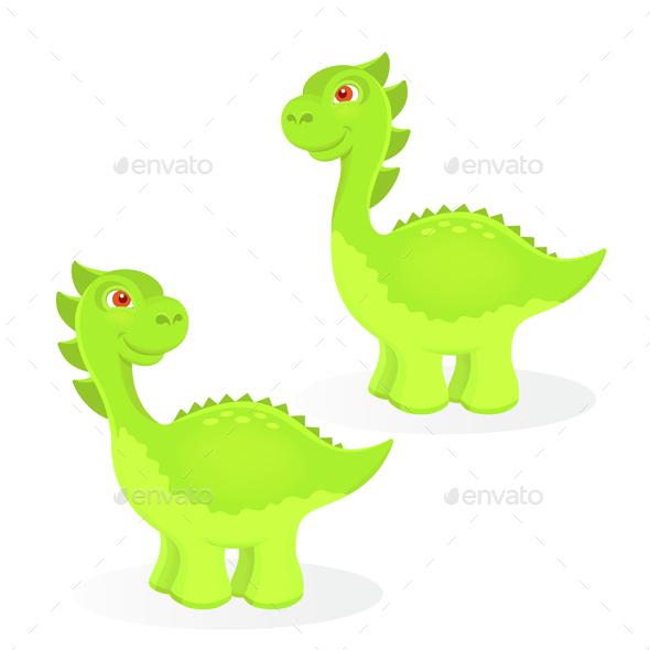 Cartoon Dinosaur Characters - Animals Characters