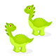 Cartoon Dinosaur Characters - GraphicRiver Item for Sale