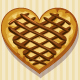 Set of Chocolate Heart Cookies - GraphicRiver Item for Sale
