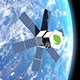 Satellite Placed Into Earth Orbit - VideoHive Item for Sale