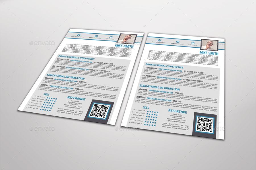 tavalo resume template design by graphicsdesignstudio