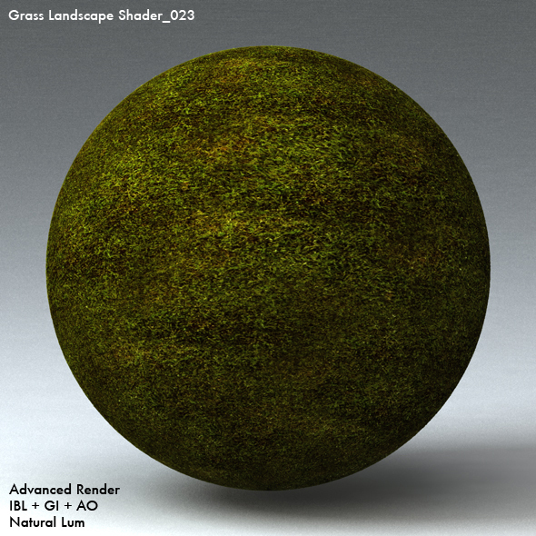 Grass Landscape Shader_023 - 3DOcean Item for Sale