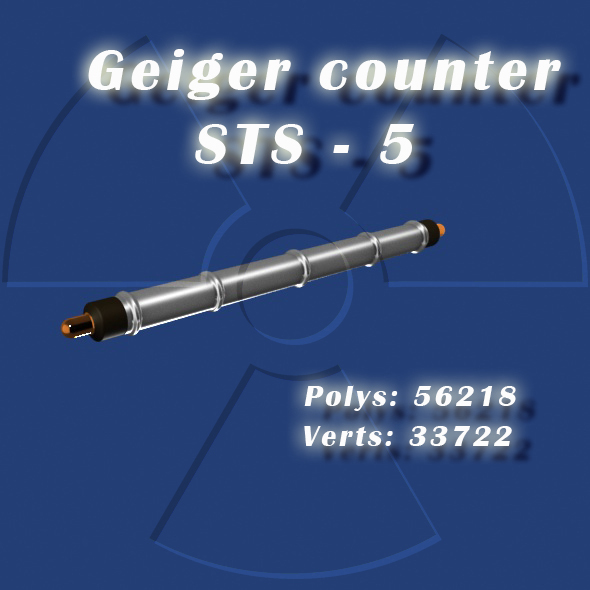 Geiger counter - 3DOcean Item for Sale