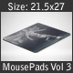 Mouse Pad Mockups - 21.5 x 27 - Corner Type 3 - GraphicRiver Item for Sale