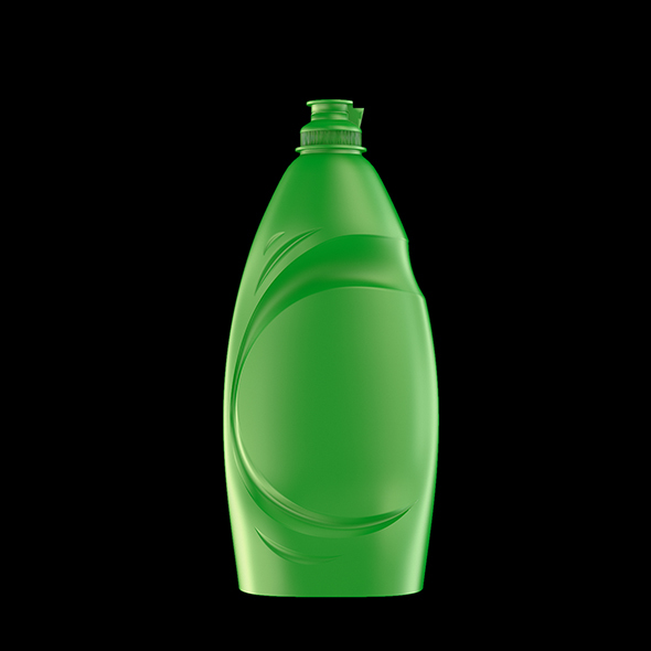 Detergent Bottle 750 ml - 3DOcean Item for Sale
