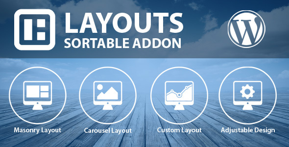 Sortable Layouts Addon - CodeCanyon Item for Sale