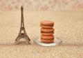 Eiffel Tower, macarons  - PhotoDune Item for Sale