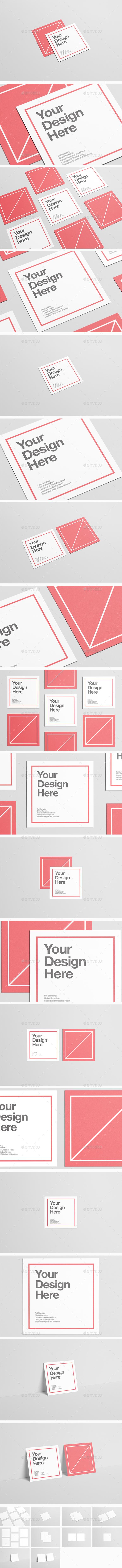 Square Flyer Mock-Up - Flyers Print