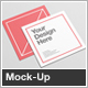 Square Flyer Mock-Up - GraphicRiver Item for Sale
