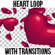 Heart Loop with Transitions - VideoHive Item for Sale