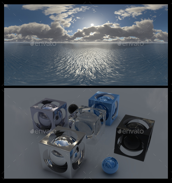 Cloudy Ocean Day 4 - HDRI - 3DOcean Item for Sale