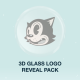 3D Glass Logo Reveal Pack - VideoHive Item for Sale