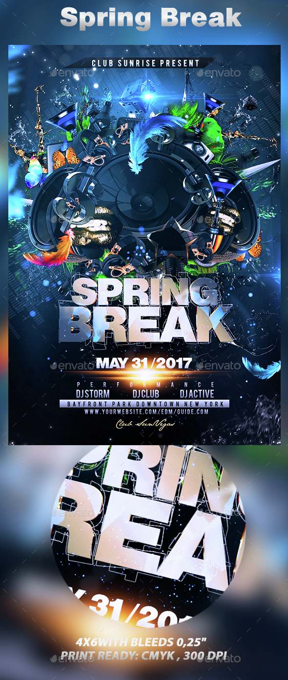 Spring Break - Clubs & Parties Events