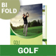 Golf Club Bifold / Halffold Brochure - GraphicRiver Item for Sale