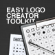 Easy Logo Creator Tookit - GraphicRiver Item for Sale