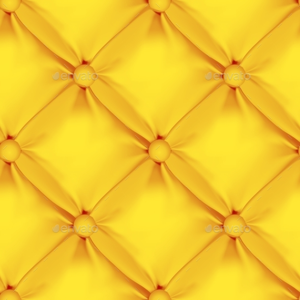 Orange Seamless  Leather Upholstery Pattern - Patterns Decorative