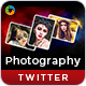 Photography Twitter Headers - 3 Designs - GraphicRiver Item for Sale