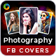 Photography Facebook Covers - 3 Designs - GraphicRiver Item for Sale