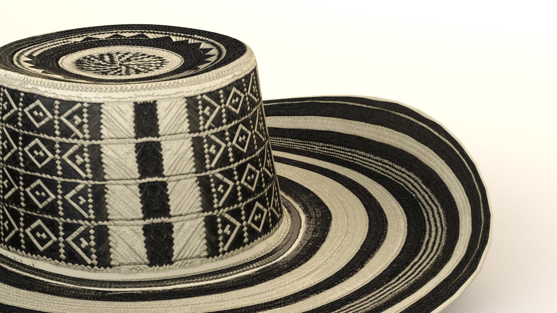 d1d3e808876 Hat Colombia Sombrero Vueltiao - Columbia - 3DOcean Item for Sale ·  hat bottom.jpg ...