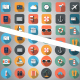 Travel Flat Icons - VideoHive Item for Sale
