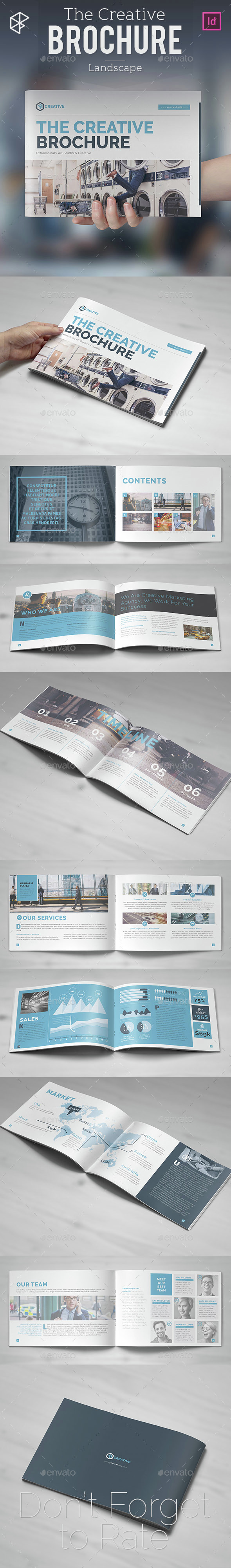 The Creative Brochure - Landscape - Informational Brochures